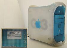 PowerMac G3 con mac X OS 9 Blue White