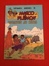 MARCO Y FILEMON VACANCES EN KENIA FELIZ 1993 MUY BUEN ESTADO BD BANDA COMIC
