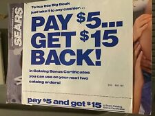 FINAL 1993 Annual SEARS CATALOG - In ORIGINAL PACKAGE - NEW  - UNREAD - UNOPENED