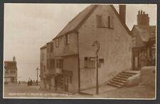 Postcard Lyme Regis Dorset the Bottom of Broad Street posted 1947 RP by Judges
