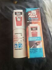 First Alert kitchen fire extinguiser,with quick release cap