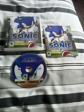 PlayStation 3 Sonic the Hedgehog PS3 game NTSC us version