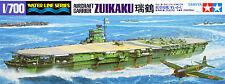 Tamiya 31214 IJN Japanese Aircraft Carrier ZUIKAKU 1/700 scale kit