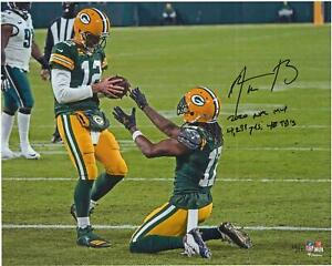 Autographed Aaron Rodgers Packers 16x20 Photo Item#11120939
