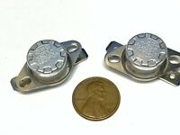 2 Pieces N/C 220ºC 428ºF normally closed Thermal NC Thermostat switch KSD301 A21