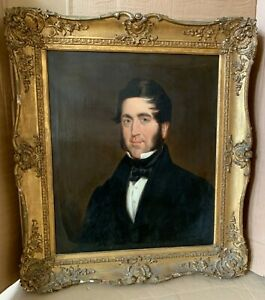 ANTIQUE GEORGIAN / VICTORIAN PORTRAIT - Brewery Founder - Large Oil - NO RESERVE