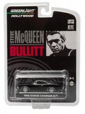Greenlight 1:64 Steve McQueen Bullitt 1968 Dodge Charger Diecast Car - 44741