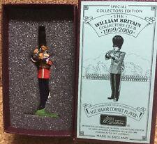 BRITAINS 00295 SCOTS GUARDS BAND (SGT.MAJOR CORNET PLAYER) 1899
