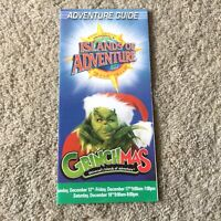 Vintage Universal Studios Florida Islands of Adventure Grinchmas 2004