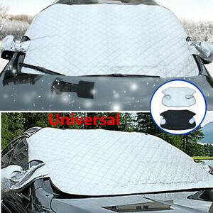 Car Truck Windshield Cover Sun Shade Protector Snow Ice Rain Dust Frost Guard