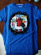 Lootcrate Exclusive - T-shirts - Deadpool Canonball Literally  - Blue