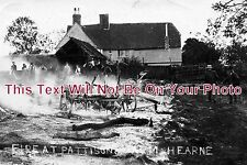 BF 102 - Fire At Pattisons Farm, Hearne, Bedfordshire 1906 - 6x4 Photo