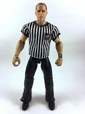 HBK Shawn Michaels WWE Mattel Elite Wrestlemania 28 Figure Ref Referee Shirt BAF