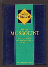 """Le grandi biografie: """"MUSSOLINI"""" - Peruzzo 2001"""