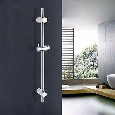 Bathroom Adjustable Sliding Rail Bar with Handheld Shower Head Holder Bracket