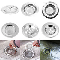 Bathroom Drain Hair Catcher Bath Stopper Plug Kitchen Sink Strainer Filter Cover