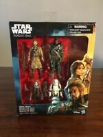 Star Wars - Rogue One Jedha Revolt Action Figures 4-Pack - NEW!
