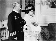 Photo Captain Arthur H. Rostron, RMS Carpathia, Wife Ethel, Medal Ceremony, 1913