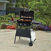 BBQ Outdoor Expert Grill 3 Burner 27,000 BTU Gas Grill, Black, XG10-101-002-02