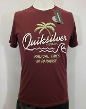New Quiksilver Radical Times Men's Short Sleeve T-Shirt, Mult Colors, S-XL, Slim