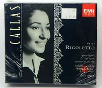 Verdi: Rigoletto [Maria Callas] [Box] ~ NEW 2-CD Set (Apr-1997, EMI Classics)