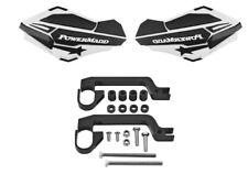 PowerMadd Sentinel MX ATV Handguards W/ Mount Kit White/Black 34408