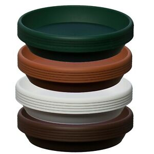 5 Pack ,Coloured Plastic Plant Pot Saucer,Many Colours, Heavy Duty,many sizes