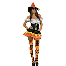Candy Corn Cutie Adult  SMALL SZ 4-6 WOMANS NEW BY SECRET WISHES
