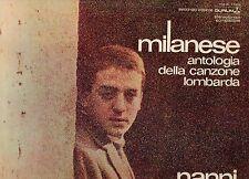 NANNI SVAMPA disco LP 33 giri MILANESE ANTOLOGIA DELLA CANZONE LOMBARDA VOL 2