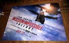 MISSION IMPOSSIBLE FALLOUT 5FT SUBWAY MOVIE POSTER TOM CRUISE ETHAN HUNT 2018