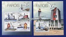 Echte Briefmarken mit Vögel-Motiven aus Guinea-Bissau