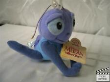 Cri-Kee (aka Cricket) beanbag plush doll, Mulan, Disney; Applause NEW