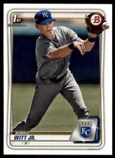 2020 Bowman Paper Prospects I #BP-25 Bobby Witt Jr. - Kansas City Royals