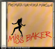 PFM (Premiata Forneria Marconi) - MISS BAKER (MADE IN JAPAN) MINT	1987