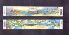 Singapore 2011 ,Singapore-Egypt Joint Issue - Significant Rivers. 2V Mnh