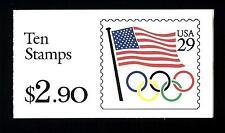 """USA - STATI UNITI - Libretto - 1992 - Copertina """"Bandiera"""" - Libretto da $ 2,90"""