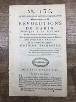 Révolte esclaves à Saint Domingue 1792 Antilles Chambéry Auch Louis 16 Haïti