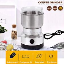 AU 220V Electric Coffee Grinder Grinding Milling Bean Nut Spice Matte Blender H
