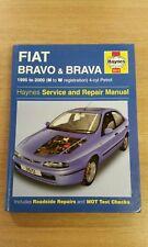 FIAT BRAVO BRAVA 1995-2000 HAYNES WORKSHOP MANUAL 3572 VGC UNUSED COND FREE P&P