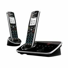 Uniden D3280-2 DECT 6.0 Cordless Phone System with Answering Machine, 2 Handsets