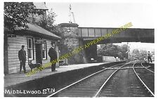 Middlewood Railway Station Photo. Disley - Hazel Grove. Stockport Line. LNWR (2)