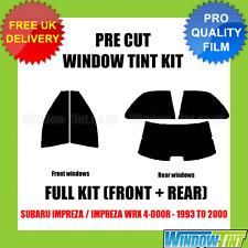 SUBARU IMPREZA / IMPREZA WRX 4-DOOR 1993-2000 FULL PRE CUT WINDOW TINT KIT