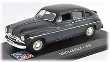 W76 Simca Abeille 1955 1/43 Scale Blue Tracked 48 Post