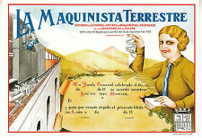 Carte Publicitaire  La Maquinista Terrestre   Neuve