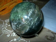 fluorite sphere mixed colours