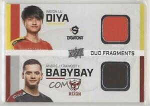 2020 Upper Deck Overwatch League Duo Fragments Diya babybay #DF-23