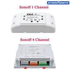 1/4CH 1/4 Kanal Sonoff Wireless WiFi Smart Fernbedienung Home Switch Modul NEU