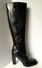 NEW STELLA MCCARTNEY Embellished Ring Tall Boots (Size 39)