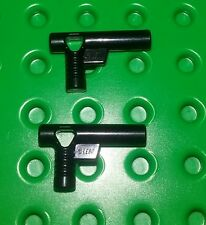 *NEW* Lego Black Pistols Hand Guns Weapons Figures Minifigures Figs - 2 pieces