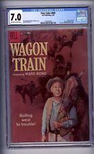 CGC WAGON TRAIN #1 FOUR COLOR 895 1958 FN/VF 7.0 3RD HIGHEST
